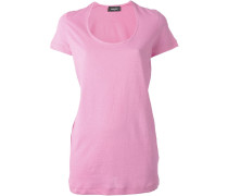 T-Shirt mit weitem Rundhalsausschnitt