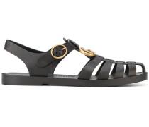 Sandalen mit LogoSchnalle