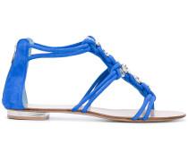 Sandalen mit Kristallen - women