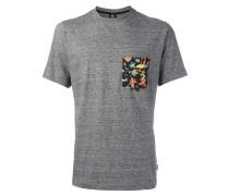T-Shirt mit bedruckter Tasche - men - Baumwolle