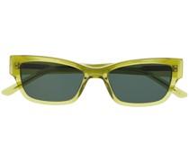 Transparente Brille