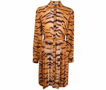 T-Shirtkleid mit Tiger-Print
