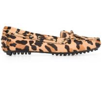'Leopard Print Driver' Loafer