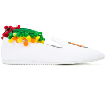 """Slip-On-Sneakers mit """"NY""""-Patch"""
