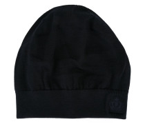 embroidered crown beanie