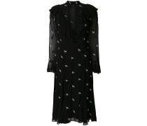 Kleid mit Schwalben-Applikationen
