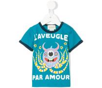 T-Shirt mit Octopus-Print