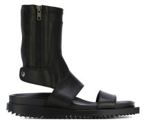 Sandalen mit hohem Schaft