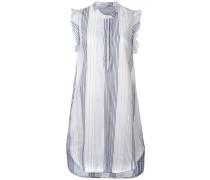 Ärmelloses Kleid mit Rüschen - women