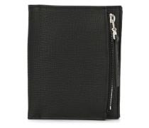 zipped billfold wallet