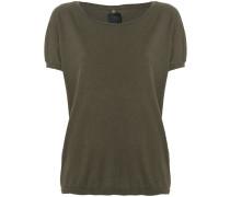 sleeveless seam T-shirt
