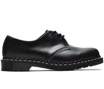 1461 Black Cavalier Derby-Schuhe