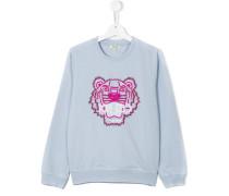 Sweatshirt mit Perlenstickerei - kids