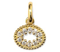 18kt Me Hearty Gelbgoldanhänger mit Diamanten