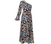 One-Shoulder-Kleid mit Print