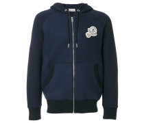 double logo hoodie