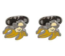 'Cool Banana' cufflinks