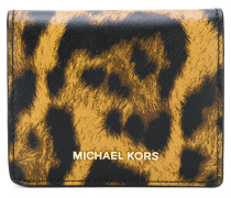 animal print cardholder