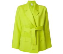 belted short coat