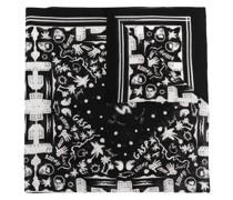 Schal mit grafischem Print