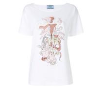 rabbit illustrated T-shirt