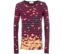 T-Shirt mit Farbeffekt - unisex - Baumwolle - XS