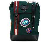 Alpina backpack - men - Baumwolle/Leder