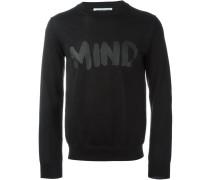 """Sweatshirt mit """"Mind""""-Print"""