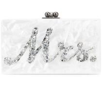 Clutch mit marmoriertem Effekt