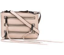 '3 Zip' Schultertasche - women - Leder