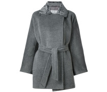 Mantel mit Glockenärmel
