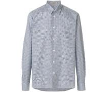 overprinted classic shirt