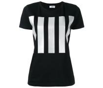 T-Shirt mit Längsstreifen - women - Baumwolle
