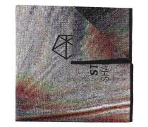 Jacquard-Schal mit Logo-Print
