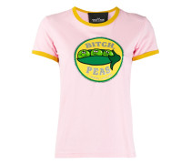 T-Shirt mit Erbsen-Print
