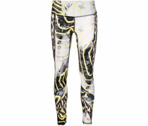 graphic-print leggings