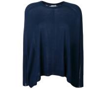 Pullover mit Lochstrick-Details