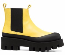 Celine Chelsea-style leather boots