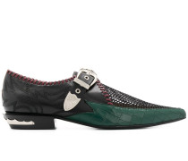 Loafer mit Kroko-Effekt