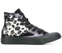 - 'All Star' High-Top-Sneakers mit Pailletten