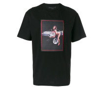 T-Shirt mit Foto-Patch