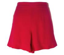 Shorts mit gewelltem Saum - women