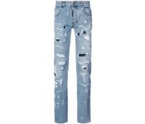 Jeans im Distressed-Look
