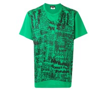 T-Shirt mit durchgehendem Print