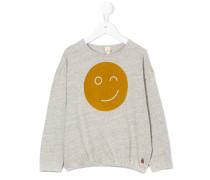Langarmshirt mit Smiley-Print