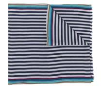 Schal mit breiten Streifen