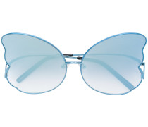 'Butterfly' Oversized-Sonnenbrille