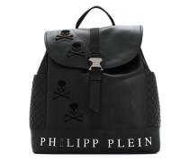 skull satchel backpack