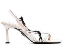 Sandalen mit Ketten