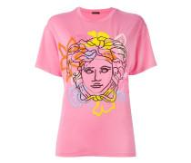 Oversized-T-Shirt mit Medus-Print